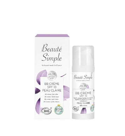 BB crème SPF 10 Peau Claire - Beauté Simple